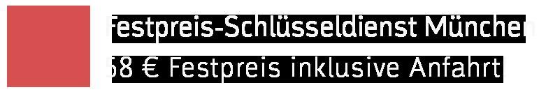 Festpreis-Schlüsseldienst München